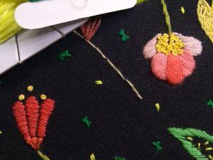 Вышиваем листья: два интересных способа. Ярмарка Мастеров - ручная работа, handmade.