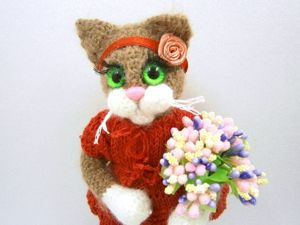 Кошка Искра. Ярмарка Мастеров - ручная работа, handmade.