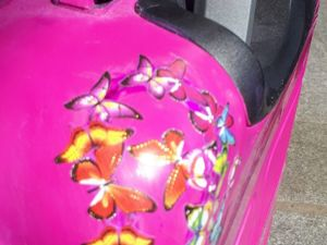 Ремонтируем чемодан из abs-пластика. Ярмарка Мастеров - ручная работа, handmade.