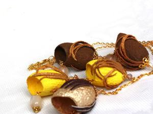 Сегодня и завтра скидки на броши и украшения из коконов. Ярмарка Мастеров - ручная работа, handmade.