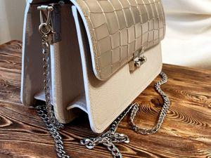 Видео обзор сумка Монте Карло MAXI. Ярмарка Мастеров - ручная работа, handmade.