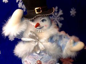 Сказка о руках и о снеговиках. Ярмарка Мастеров - ручная работа, handmade.