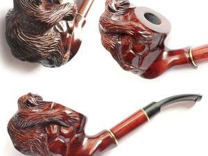 Курительная трубка объемная  «MONKEY». Ярмарка Мастеров - ручная работа, handmade.