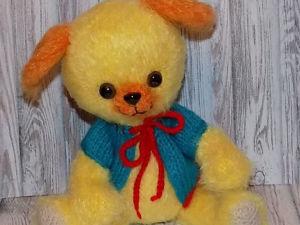 Вяжем очаровательного пёсика Чарли. Ярмарка Мастеров - ручная работа, handmade.