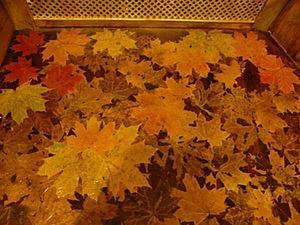 Осень не только за окном: создаем листопад на полу. Ярмарка Мастеров - ручная работа, handmade.