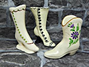 Винтажные коллекционные сапожки. Ярмарка Мастеров - ручная работа, handmade.