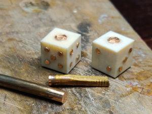 Процесс изготовления гральных костей. Ярмарка Мастеров - ручная работа, handmade.