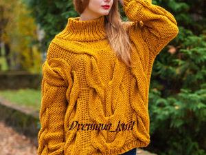 Акция на свитер. Ярмарка Мастеров - ручная работа, handmade.