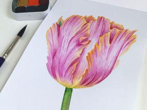 Тюльпаны. Ярмарка Мастеров - ручная работа, handmade.