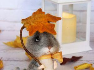 Розыгрыш мышонка. Ярмарка Мастеров - ручная работа, handmade.