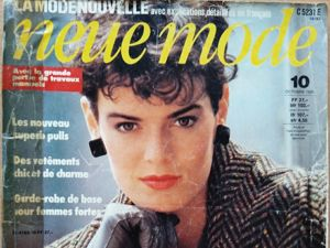 Neue Mode N 10/1983. Фото моделей. Ярмарка Мастеров - ручная работа, handmade.