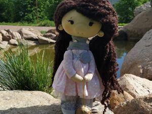 Аукцион. Авторская кукла Пенелопа. Ярмарка Мастеров - ручная работа, handmade.