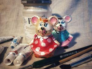 Мастер-класс по росписи мышки. Ярмарка Мастеров - ручная работа, handmade.
