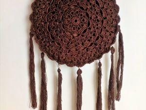 Вяжем крючком оригинальную сумку «Ловец снов». Ярмарка Мастеров - ручная работа, handmade.