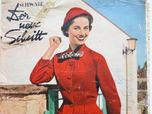 Der Neuer Schnitt — старый немецкий журнал мод -9/1955. Ярмарка Мастеров - ручная работа, handmade.