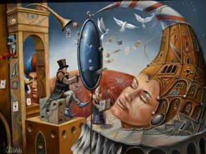 Фантасмагоричные образы из фабрики снов художника Tomasz Setowski. Ярмарка Мастеров - ручная работа, handmade.