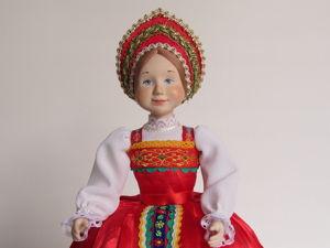 Новая фарфоровая кукла. Ярмарка Мастеров - ручная работа, handmade.
