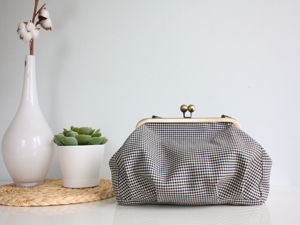 Шьем объемную сумку с фермуаром. Ярмарка Мастеров - ручная работа, handmade.