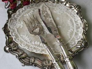 Дополнительные фотографии ножа и вилки для сервировки. Ярмарка Мастеров - ручная работа, handmade.