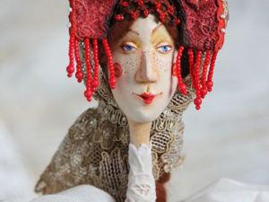 Авторская кукла  «Марфушенька-Душенька». Ярмарка Мастеров - ручная работа, handmade.