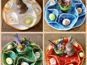 Для кулича и яиц. Ярмарка Мастеров - ручная работа, handmade.