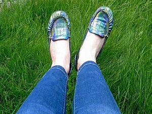 Как покрасить свои старые туфли. Ярмарка Мастеров - ручная работа, handmade.