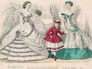 Подростковая мода XIX века. Ярмарка Мастеров - ручная работа, handmade.