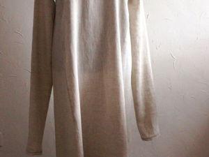 В нашей лавочке — новая нательная долгорукавная рубаха. Ярмарка Мастеров - ручная работа, handmade.