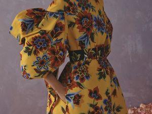 Осенний листопад: 21 образ из новой коллекции Carolina Herrera Resort 2020. Ярмарка Мастеров - ручная работа, handmade.