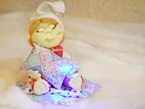 Видео мастер-класс: кукла-ночник для деток. Ярмарка Мастеров - ручная работа, handmade.