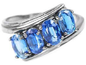 Скидка до 30% на украшения с синими камнями. Ярмарка Мастеров - ручная работа, handmade.