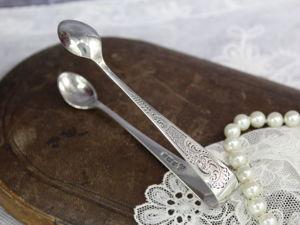 Дополнительные фотографии антикварных серебряных щипчиков для сахара. Ярмарка Мастеров - ручная работа, handmade.