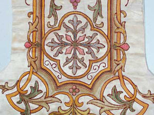 Review of the Old Church Embroidery from the Collection by Mary Corbet. Livemaster - handmade
