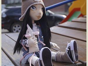 Создание текстильной куклы Лорочки. Часть 2. Ярмарка Мастеров - ручная работа, handmade.