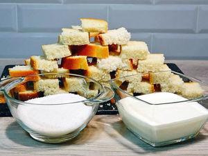 Готовим вкуснейшие сухарики к чаю из обычного хлеба за 20 минут. Ярмарка Мастеров - ручная работа, handmade.