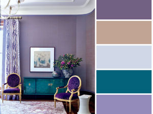 Lilac Сolor in Interior: Combinations of Colors. Livemaster - handmade