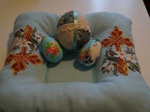 Шьем подставку для пасхальных яиц. Ярмарка Мастеров - ручная работа, handmade.