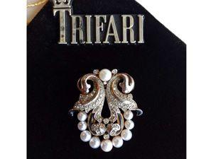 Trifari Empress Eugenie. Ярмарка Мастеров - ручная работа, handmade.