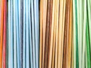 Добиваемся нужного цвета бумажных трубочек для плетения: видеоурок. Ярмарка Мастеров - ручная работа, handmade.