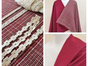 Старые ткани и новое предложение. Ярмарка Мастеров - ручная работа, handmade.