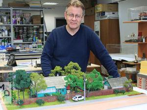 Закончен макет частного дома в масштабе 1:43. Ярмарка Мастеров - ручная работа, handmade.