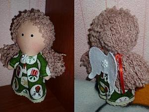 "Шьём куколку ""Зимний ангел"". Ярмарка Мастеров - ручная работа, handmade."