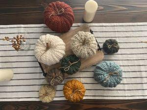Удивительные вязаные тыквы — идеи для вязания и вдохновения. Ярмарка Мастеров - ручная работа, handmade.