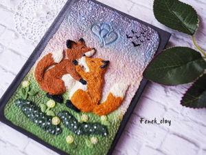 Создаем декоративную картинку из полимерной глины. Ярмарка Мастеров - ручная работа, handmade.