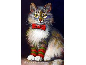 Мастер-класс: пишем кошку маслом за несколько дней. Ярмарка Мастеров - ручная работа, handmade.