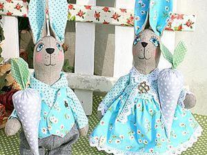 Шьём милых мятных кроликов. Ярмарка Мастеров - ручная работа, handmade.