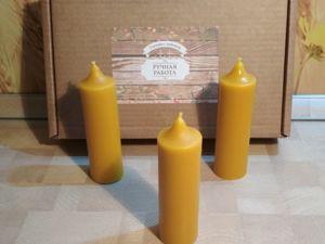 Классические свечи в ассортименте. Ярмарка Мастеров - ручная работа, handmade.