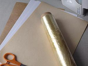 Бумага для заморозки своими руками. Ярмарка Мастеров - ручная работа, handmade.