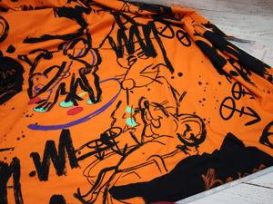 Кулирка Мышки на оранжевом фоне!. Ярмарка Мастеров - ручная работа, handmade.