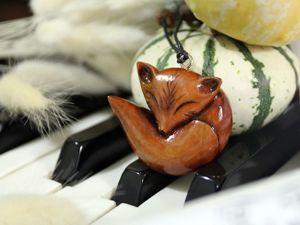 Лисичка. Ярмарка Мастеров - ручная работа, handmade.
